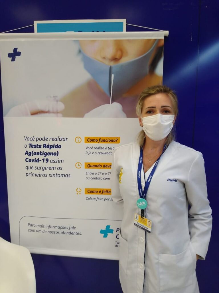 Aline Reolon,  Dia do Farmacêutico