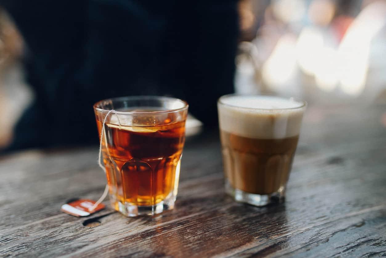 Benefícios do chá e do café