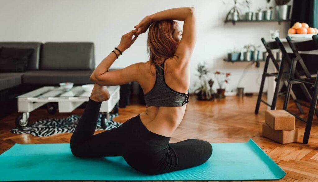Benefícios do yoga, flexibilidade