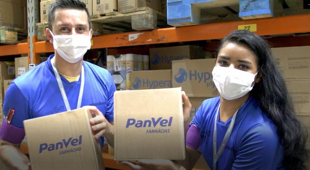Aniversário da Panvel, colaboradores do centro de distribuição.