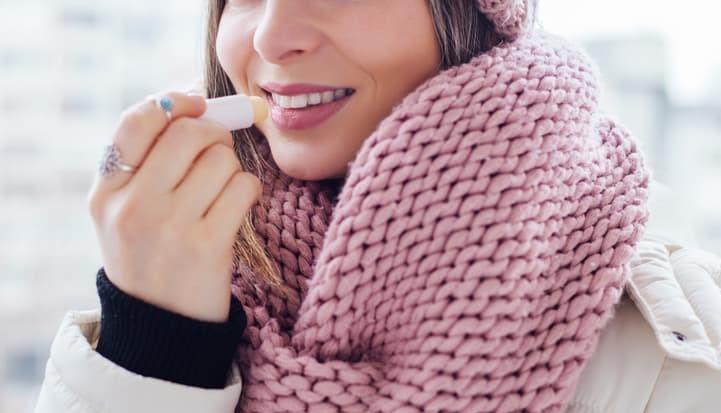 Protetor labial inverno
